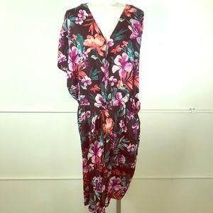 Bobeau B Collection Curvy Aniyah Floral Dress